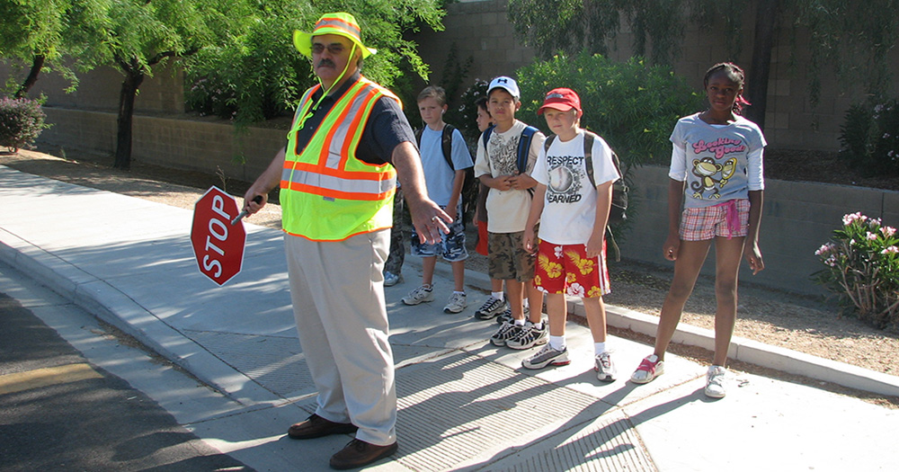 Crossing Guards are Working to Keep Children Safe