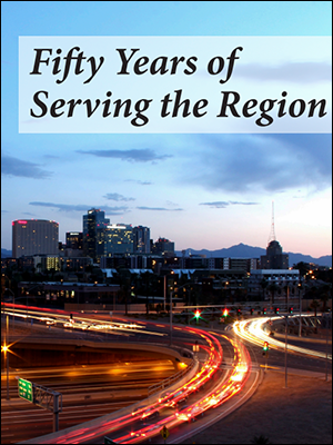View the Fifty Years of Serving the Region