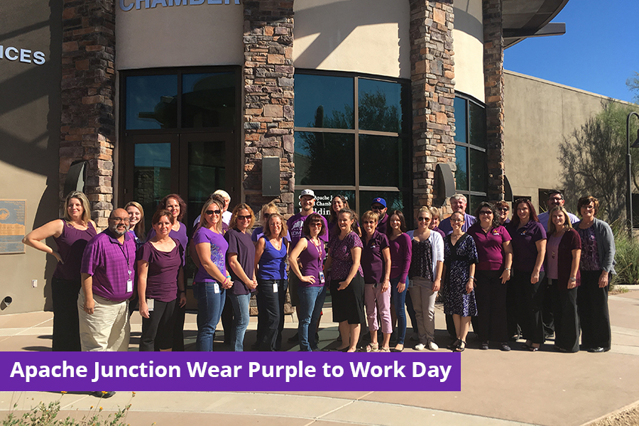 Apache Junction Domestic Violence Awareness Month