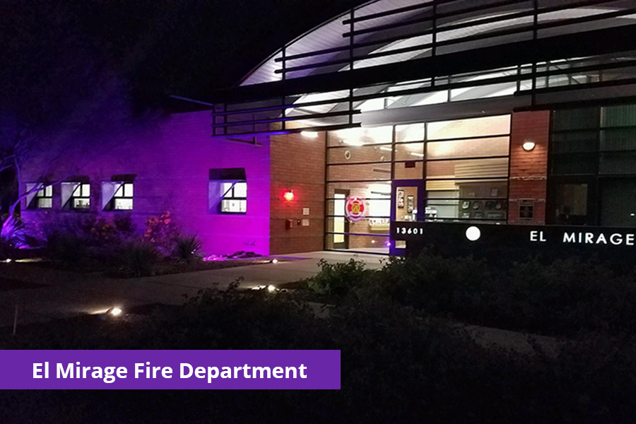 El Mirage Fire Department Domestic Violence Awareness Month
