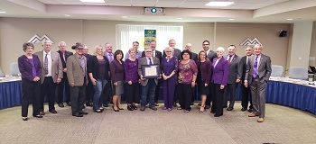 2018 Regional Council wears purple to support Domestic Violence Awareness Month