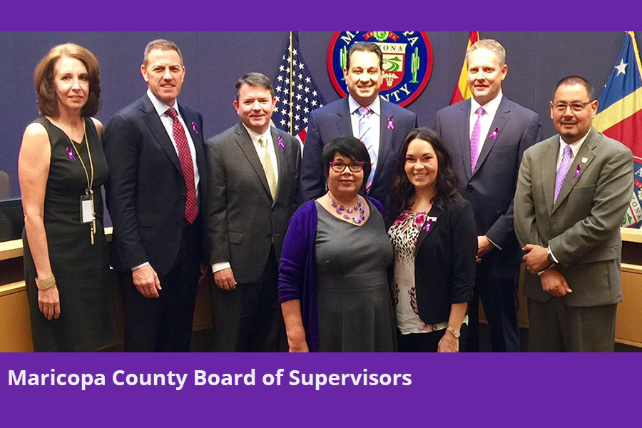 Maricopa County Board of Supervisors Domestic Violence Awareness Month