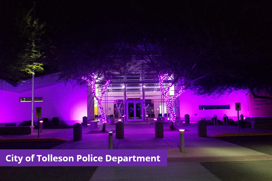 Tolleson Domestic Violence Awareness Month
