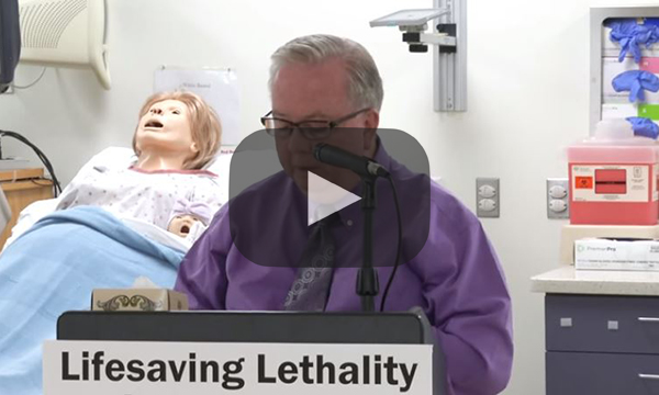 2015 Domestic Violence Press Conference: Lifesaving Lethality Assessments