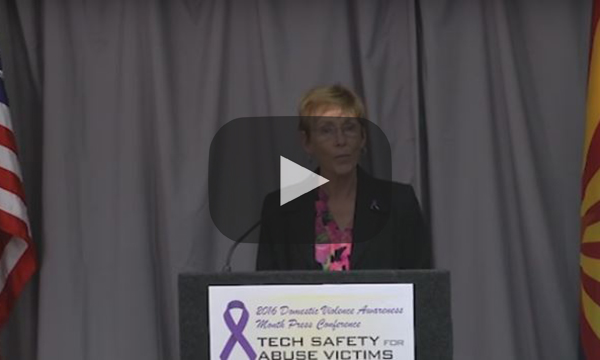 2016 Domestic Violence Press Conference