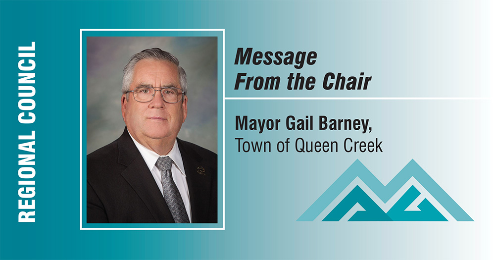My Past Year as Chair by Mayor Gail Barney