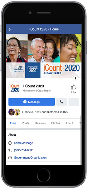 ICount 2020 Home on iPhone