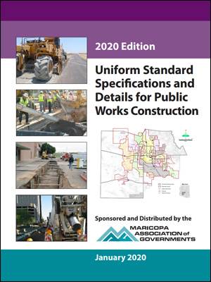 View the Uniform Standard Specifications for Public Works Construction, 2020 Edition