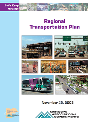 View the 2003 Regional Transportation Plan