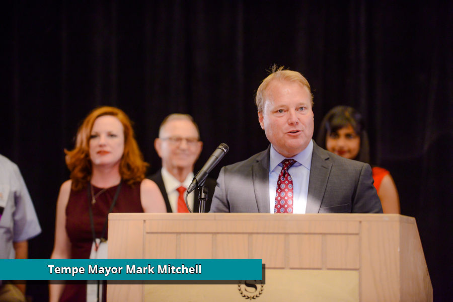 Mayor Mark Mitchell
