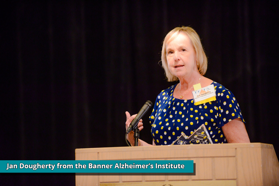 Jan Dougherty, Banner's Alzheimer's Institute