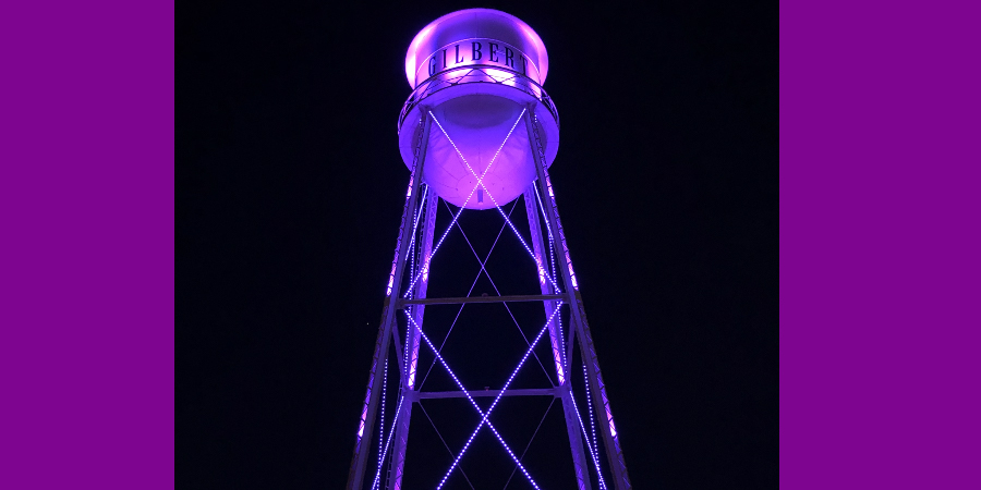 Town of Gilbert Water Tower