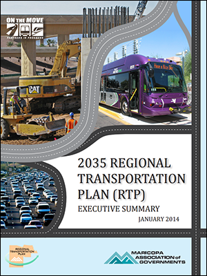 View the 2035 Regional Transportation Plan (RTP) Executive Summary