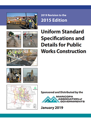 2019 MAG Specifications for Public Works Construction