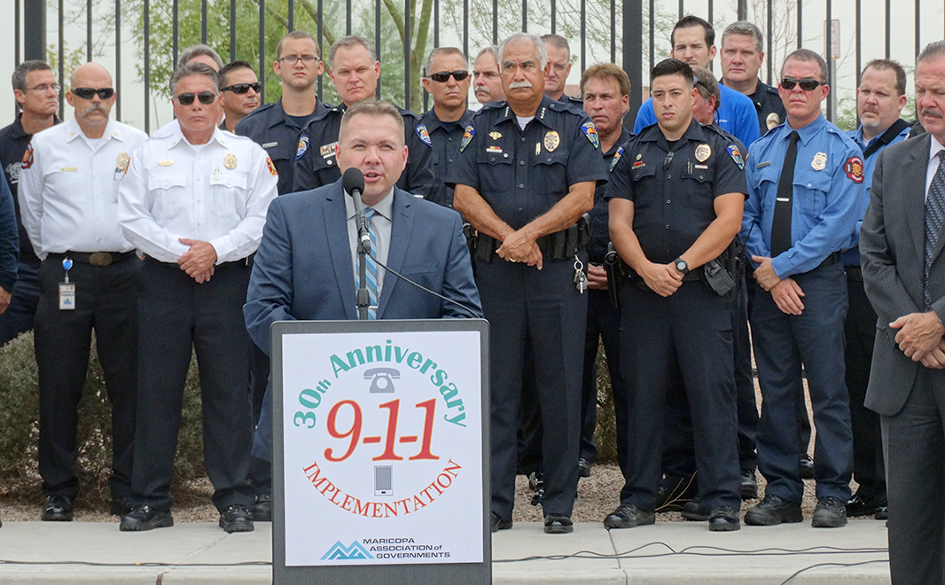 Press Conference of 9-1-1 Photo